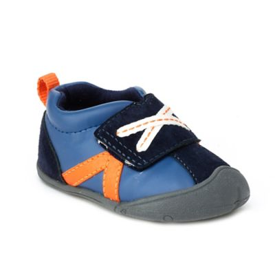 Carter's® Every Step Stage 1 Oldie Size 2 Crawling Shoe in Navy