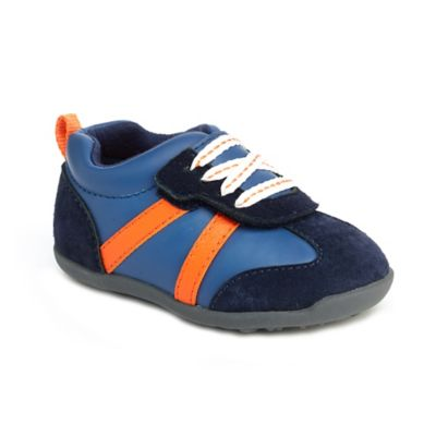 Carter's® Every Step Oldie Size 4 Walking Shoe in Navy