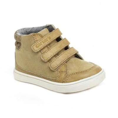 Carter's® Winston Size 7 High-Top Shoe in Khaki