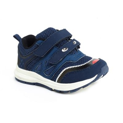 Carter's® Marcel Size 5 Graphic Face Athletic Sneaker in Navy