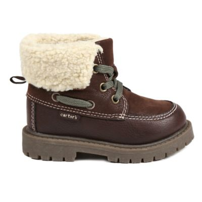 Carter's® Size 5 Sherpa Lined Outdoor Boot in Brown