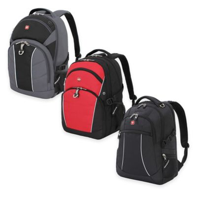 SWISSGEAR® 18.5-Inch Backpack in Black/Red