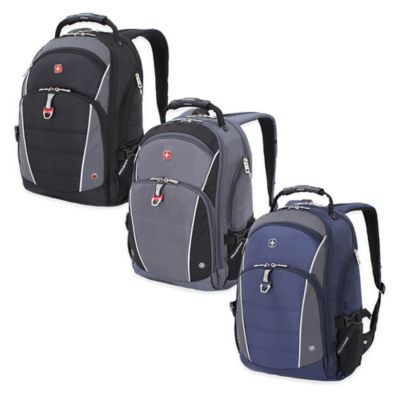 SWISSGEAR® Computer Backpack in Grey/Blue