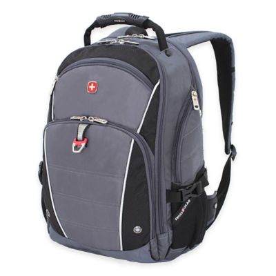 SWISSGEAR® Computer Backpack in Grey/Black