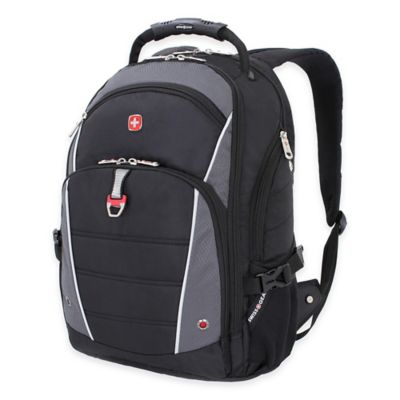 SWISSGEAR® Computer Backpack in Black/Grey