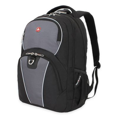 SwissGear 18.5-Inch Backpack in Black/Grey