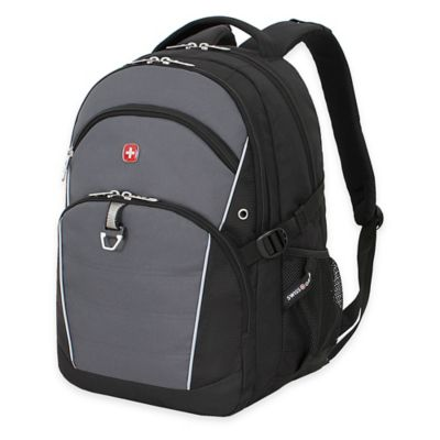 SwissGear 18.5-Inch Laptop Backpack in Black/Grey
