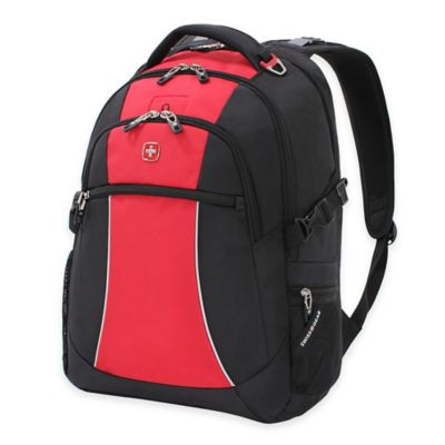 SWISSGEAR® 18-Inch Laptop Backpack in Red/Black