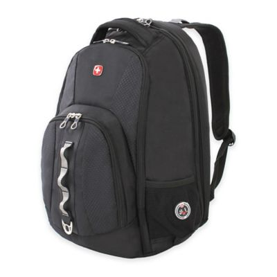 Wenger SwissGear ScanSmart 18.25-Inch Backpack in Black