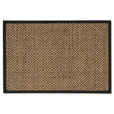 Nourison Kenya 2-Foot x 3-Foot Accent Rug in Chocolate