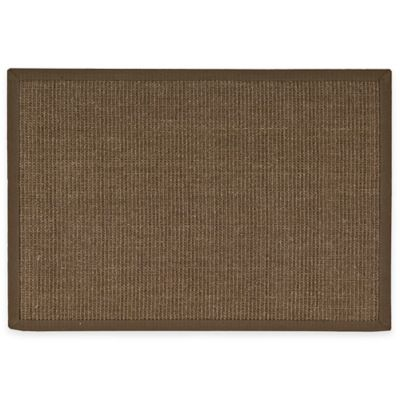 Nourison Boucle 2-Foot x 3-Foot Accent Rug in Chocolate