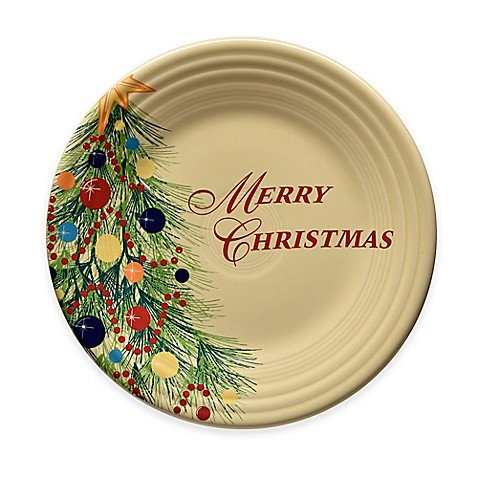 Buy Fiesta 174 Christmas Quot Merry Christmas Quot Dinner Plate From