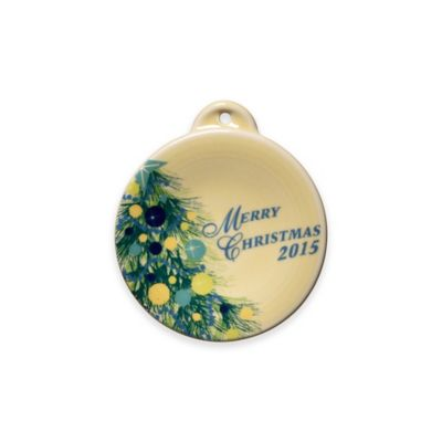 Fiesta® Christmas 2015 Ornament
