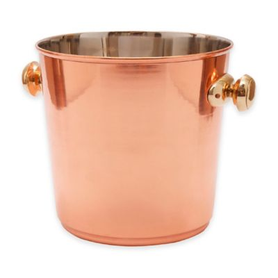 Old Dutch International Copper-Plated Ice Bucket