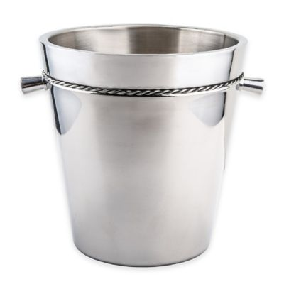 Old Dutch International Braided Double-Walled Stainless Steel 5-1/4 qt.Wine Chiller
