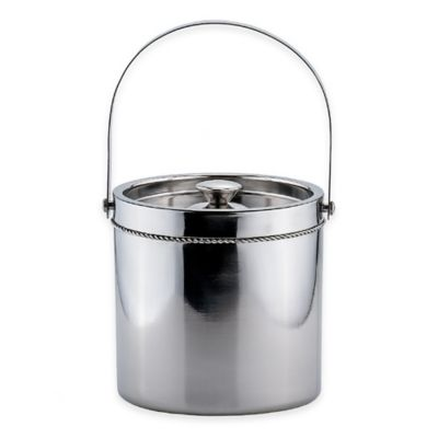 Old Dutch International Braided Double-Wall Stainless Steel Ice Bucket