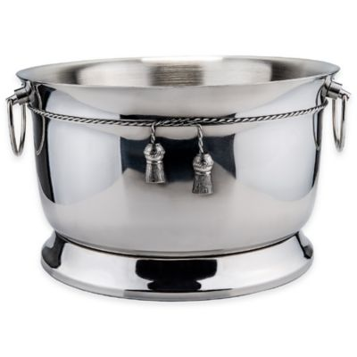Old Dutch International 3-Gallon Stainless Steel Double Walled Braided Beverage Tub