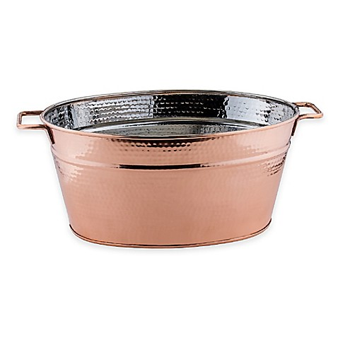 Old Dutch International 5 Gallon Copper Plated Hammered