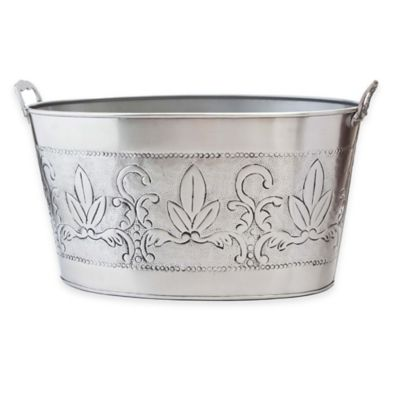 Old Dutch International Victoria Beverage Tub in Pewter