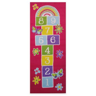 Fun Rugs Hopscotch Rug