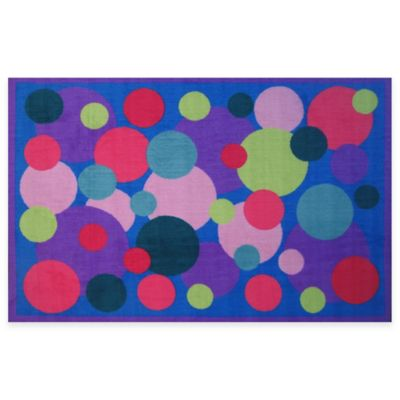 Fun Rugs® Poppin' Bubble 3-Foot 3-Inch x 4-Foot 10-Inch Area Rug
