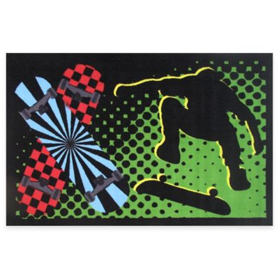 Fun Rugs™ Board Flip 1-Foot 7-Inch x 2-Foot 5-Inch Area Rug