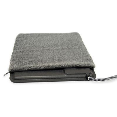 Lectro-Kennel Small Deluxe Heated Pad Cover in Grey