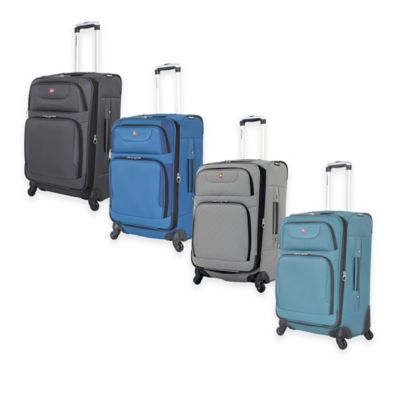 SWISSGEAR® 24-Inch 7297 Spinner in Blue/Black