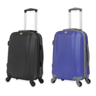 Wenger SwissGear 6072 19-Inch Hardside Carry On Spinner in Blue