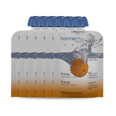 Bonne O 6-Pack Orange Syrup
