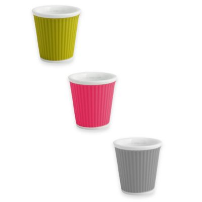 Les Artistes Paris Espresso Cups in Green (Set of 2)