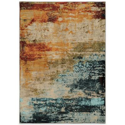 Oriental Weavers Sedona Watercolor 5-Foot 3-Inch x 7-Foot 6-Inch Area Rug in Multicolor