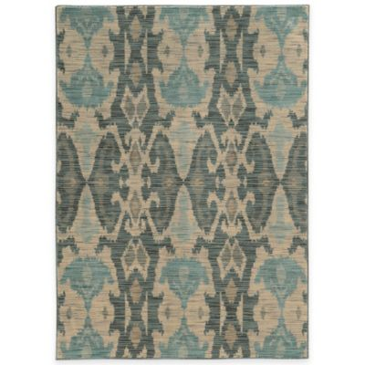Oriental Weavers Sedona Washed Ikat 7-Foot 10-Inch x 10-Foot 10-Inch Area Rug in Ivory