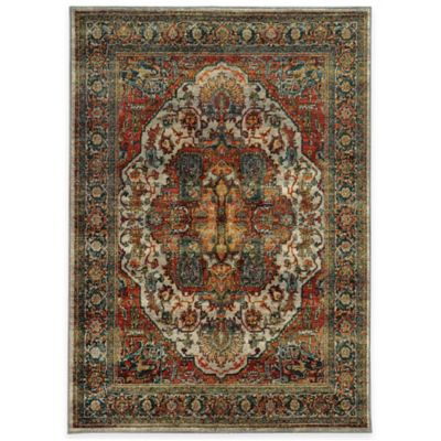 Oriental Weavers Sedona Traditional 6-Foot 7-Inch x 9-Foot 6-Inch Area Rug in Red