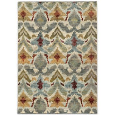Oriental Weavers Sedona Ikat 6-Foot 7-Inch x 9-Foot 6-Inch Area Rug in Multicolor