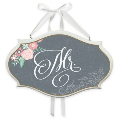 """Lillian Rose™ Chalkboard Style """"Mr."""" Chair Sign"""