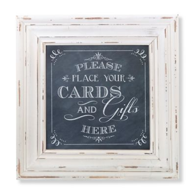 Lillian Rose™ 18-Inch x 18-Inch Square Sign Frame in Black