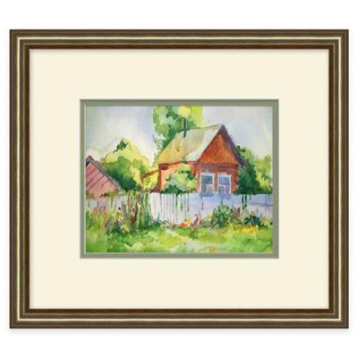Country Farm House 2 Framed Wall Art