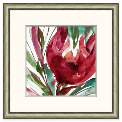 Bold Blossom Framed Wall Art