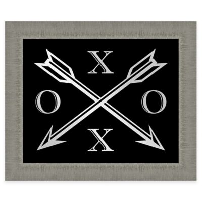 Arrow XO Framed Wall Art