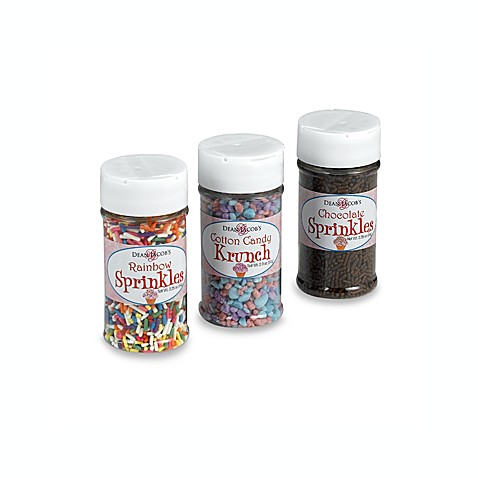Dean Jacob's Ice Cream Sprinkle Set