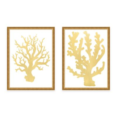 Coral Coastal Wall Decor