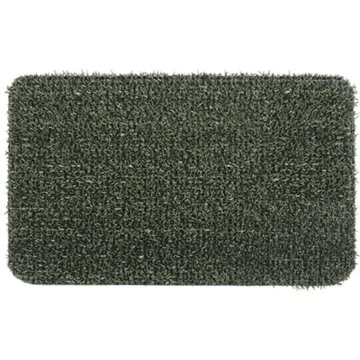 Clean Machine® Flair 24-Inch x 36-Inch Scraper Door Mat in Green