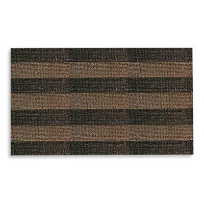 Clean Machine® Patriot Stripe 60-Inch x 36-Inch X-Large Scraper Door Mat in Taupe