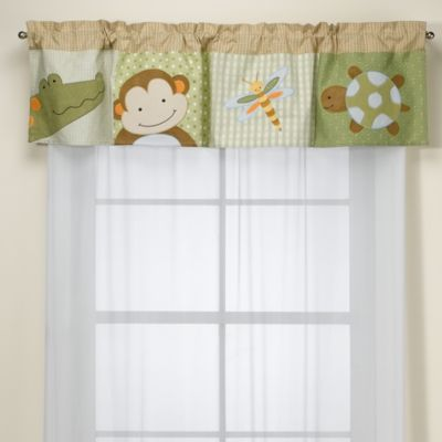 Lambs & Ivy® Papagayo Window Valance