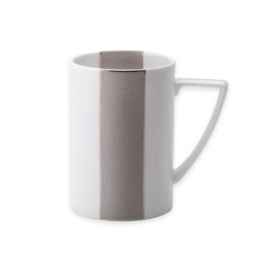 Mikasa White Square Mug