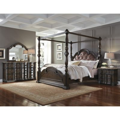 Pulaski Cortina Queen 4-Piece Bedroom Set