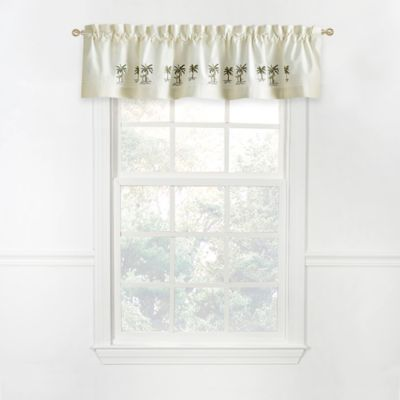 Palm Tree Window Valances