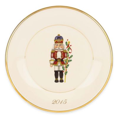 Lenox® Holiday™ 2015 Toy Soldier Accent Plate