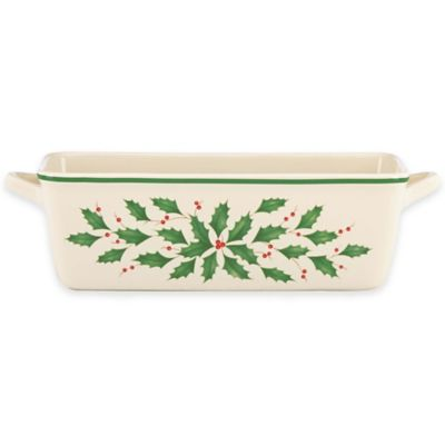 Lenox® Holiday™ Loaf Pan